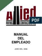 Employee Manual Spanish