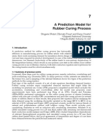 A Prediction Model for Rubber Curing Process