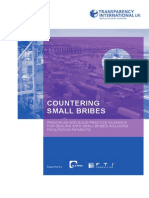 Countering Small Bribes including facilitation payments