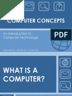 1 Computer Concepts