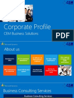 CEM Corporate Profile