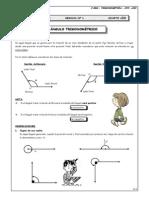 Guia 1 - Ángulo Trigonométrico