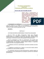 24-10 - BRASIL 2007 - Decreto 6094