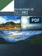 Nueva Politica Nacional de Turismo