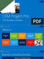 CEM Project Pro