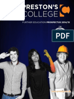 Preston's College Prospectus 2013/14
