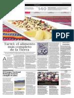 Tarwi El Alimento Más Completo de La Tierra