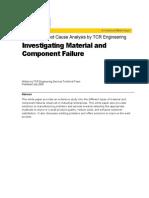 Tcr Whitepaper Failure Analysis