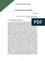 Antonio Gramsci - El Partido Comunista y Los Sindicatos