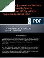 Bus de Educación Judicial Ciudadana