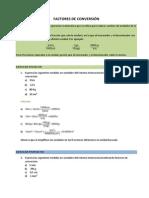 Ejercicios Factores Conversion-Alumno