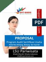 Program Audit Sertifikasi Hotel