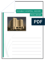 Bombay Hospital- Final Report