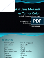 Ileus Obst Tumor Colon