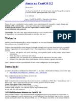 Instalando o Webmin No CentOS 5