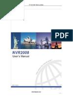 TT NVR2008 Manual Users