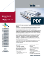 Telit GM862-QUAD PY Datasheet