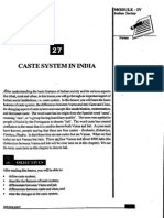 L-27 Caste System in India