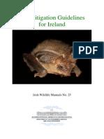 Bat Mitigation Guidelines Ireland