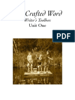 the crafted word writers toolbox unit one