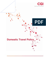 Domestic Travel Policy