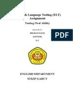 English Language Testing