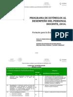 Guía PROED, 2014