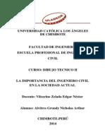 La Importancia Del Ingeniero Civil en La Sociedad Actual
