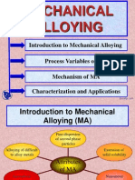 Introduction to Mechanical Alloying