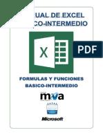 Manual Basico -InTERMEDIO de Excel 2013