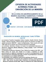 Propuestas para el Ministerio del Ambiente APMABAPU.