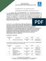Edital 97 2014 Republicacao