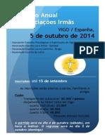 Encontro Anual de Associações Irmãs - 5/10/2014