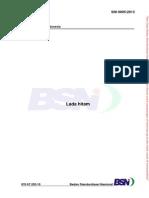 SNI 0005-2013 Lada Hitam