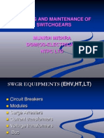 Swgr Maint & Testing