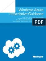 Windows Azure Prescriptive Guidance