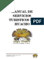 Manual Servicios Turisticos