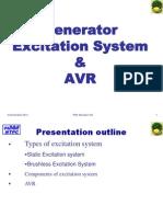 Generator Excitaion & AVR