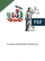 La Justicia en Republica Dominicana