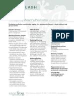 Sagefrog Marketing Plan Outline