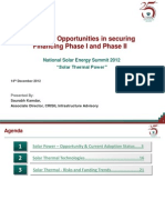 Presentation Risks Opportunities Solar
