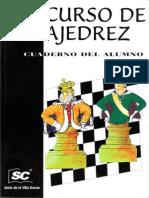 De La Villa - Curso de Ajedrez 4. Cuaderno Del Alumno