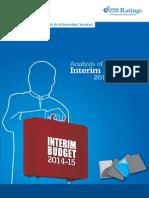 Interim Budget 2014 15