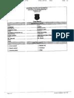 Warren Police Report
