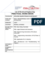 Buku Kerja Praktikal Ej501 PW1-PW3 -JUN 2014 Student