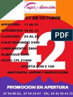 Hospedaje y Viaje al Cervantino 2014 - Itinerario