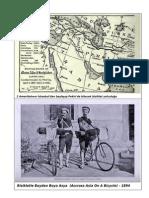 Bisikletle Istanbuldan Pekine-1894