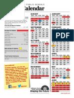 JCPS 2014-15 Calendar