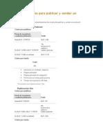 Nuevas tarifas para publicar y vender un producto.doc