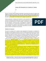 DEL VALLE - Comparando Regímenes de Bienestar en América Latina